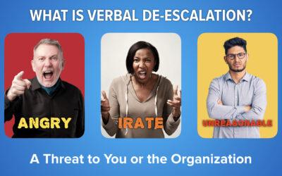 Techniques to Verbally De-Escalate a Situation